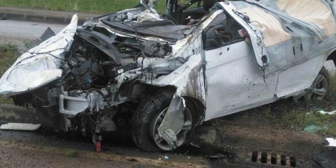 Trafik kazasında ölü sayısı 4'e yükseldi