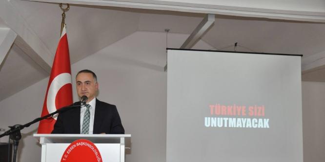 Türkiye'nin Essen Başkonsolosluğunda, 15 Temmuz etkinliği