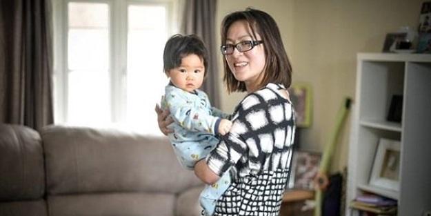 3 aylık bebek annesini ölümden kurtardı