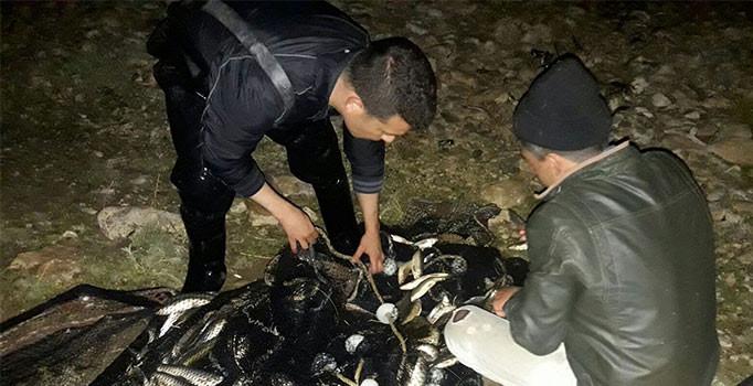 3 bin 600 kilogram kaçak avlanmış balık ele geçirildi