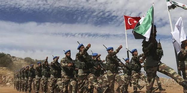 3 harekâtta 1018 şehit verdiler... Suriye Milli Ordusu vatanı için savaşıyor!