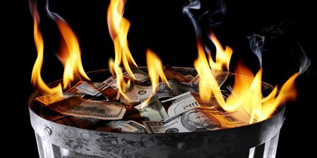 3 Trilyon dolar kül oldu!