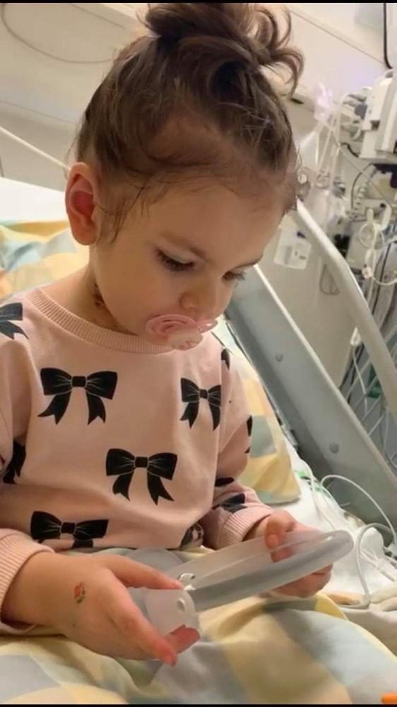 3 yaşındaki minik Eslem ilik nakli için yardım bekliyor