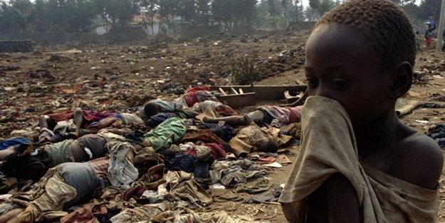 300 bini çocuk 800 bin kişi katledilmişti... Ruanda Soykırımı'nın üzerinden 25 yıl geçti