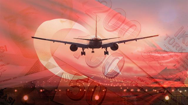 300 Türk, Türk Lirası'na destek için Fransa'dan uçak kaldıracak