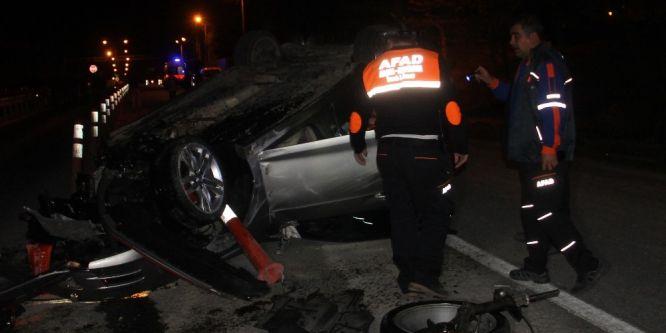 Elazığ'da iki ayrı kaza: 2 yaralı