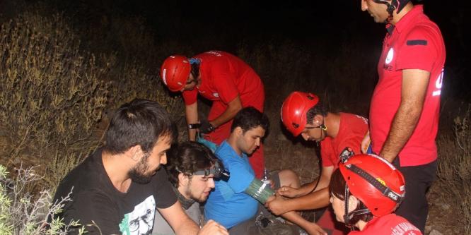 Kaybolan 3 üniversiteli kurtarıldı