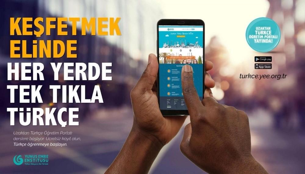 320 bin kişi Yunus Emre Enstitüsünün portalında Türkçe öğreniyor
