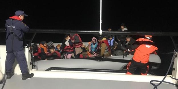 33 düzensiz göçmen yakalandı