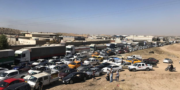 Kuzey Irak'ta 350 köy PKK'dan dolayı boşaltıldı!
