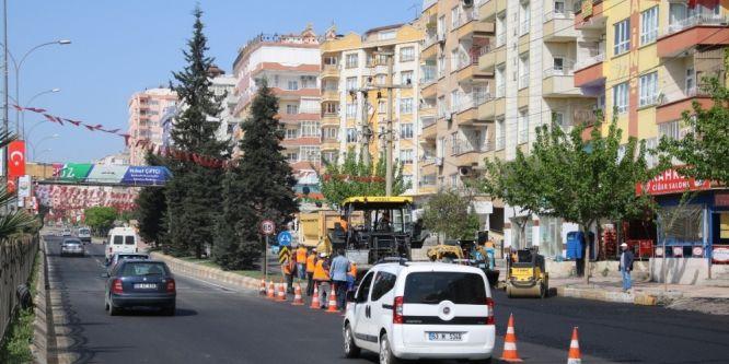 Büyükşehir tarihi İpekyolunun asfaltını revize ediyor
