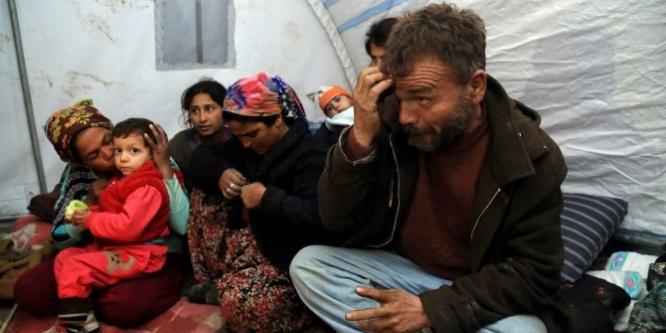 Ankara'nın göbeğinde çadır hayatı