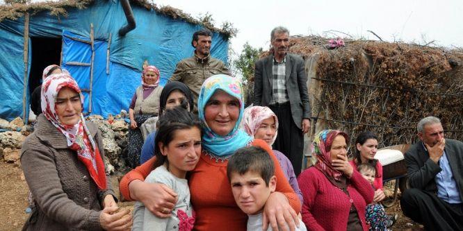 Kayıp çocuklarına kavuşan annenin sevinç gözyaşı