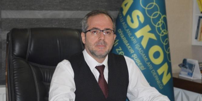 ASKON Diyarbakır Şube Başkanı Aydın Altaç: İbadet özgürlüğüne saldırılar kabul edilemez