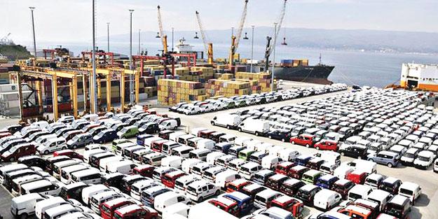 4 ayda 10.5 milyar dolar! Ticari araç ihracatı moral verdi