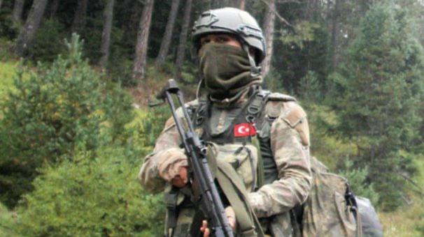 4 terörist Kürtün kırsalında kıstırıldı