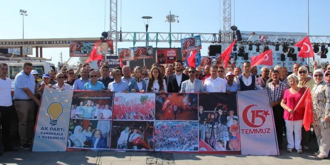 AK Parti Çanakkale İl Başkanlığından 15 Temmuz bildirisi