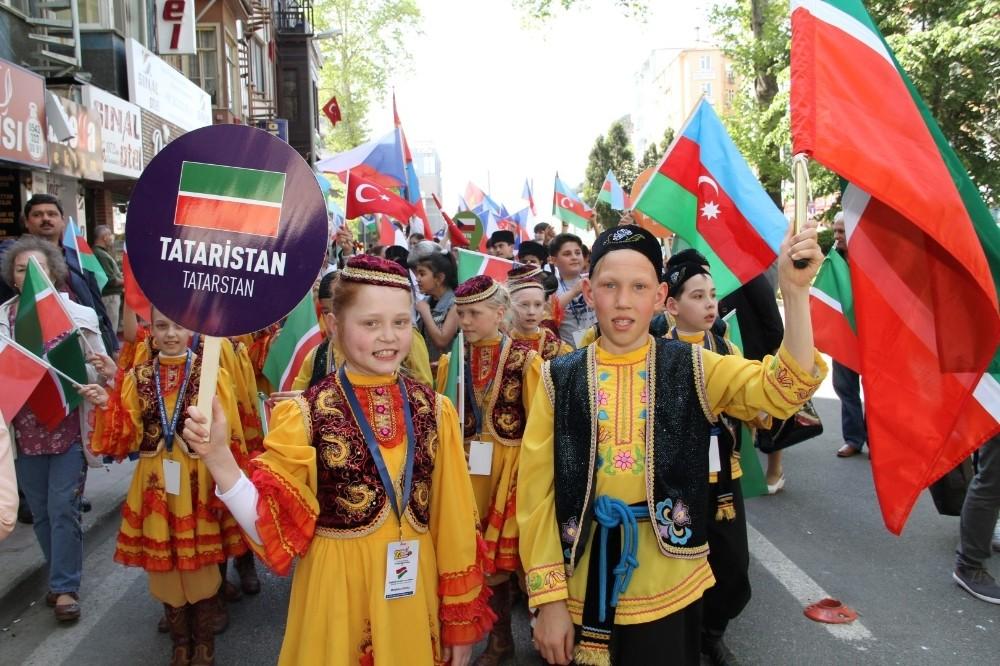 42 ülkeden bin 100 çocuk 23 Nisan coşkusunu Kocaeli'de yaşayacak