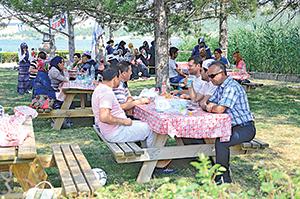 Basın camiası piknikte buluştu