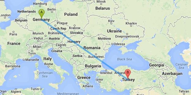 437 Türk daha o ülkeye sığınma talep etti
