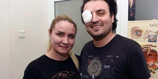 5 aylık evliyken gözlerini kaybetti, kornea nakliyle yeniden görmeye başladı