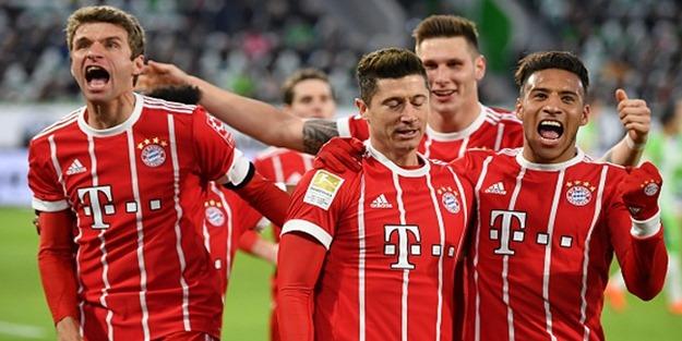 5 gollü maçın galibi Bayern Münih