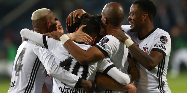 5 gollü müthiş maç! Beşiktaş pes etmedi!