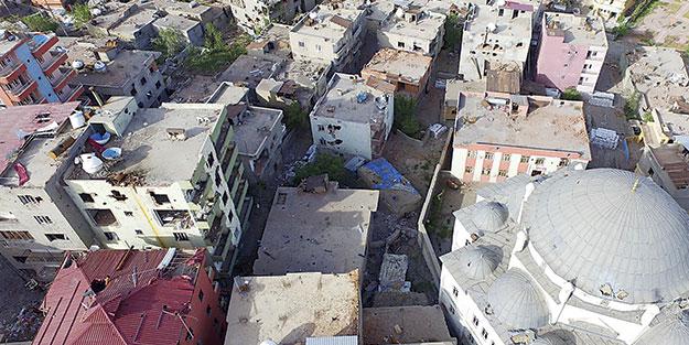 5 ilçedeki yıkımın maliyeti 855 milyon TL