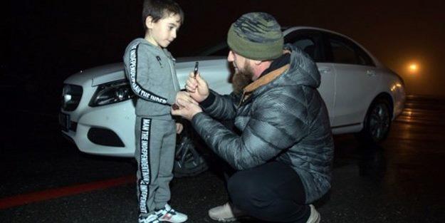 5 yaşındaki çocuğa Mercedes hediye etti