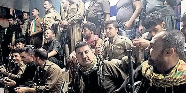 500 PKK'lı terörist törenle karşılandı!