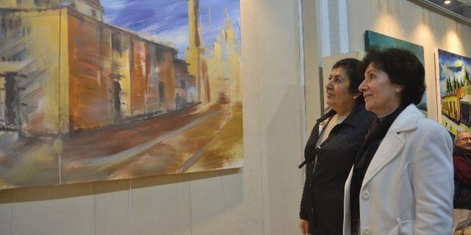 Dünya ressamları Adana'yı resmetti