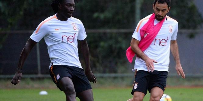 Galatasaray, Östersunds FK maçı hazırlıklarını sürdürdü