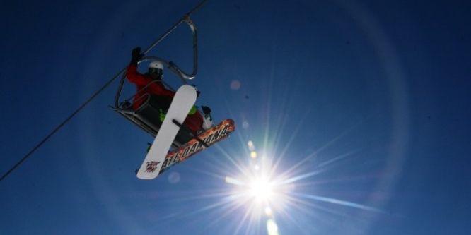Kayakçılar Nemrut'a akın etti