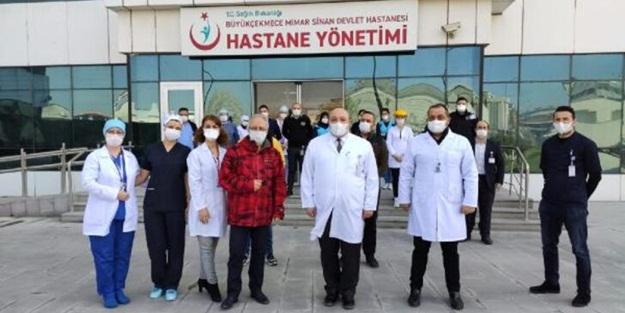 64 yaşındaki Prof. Dr. Özyaral'dan güzel haber