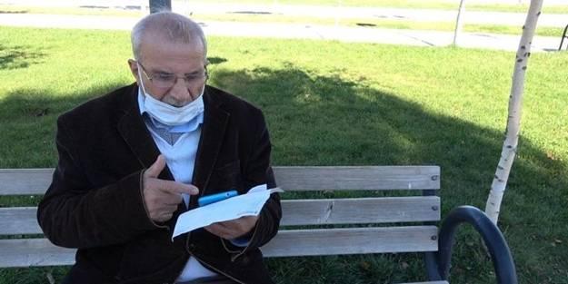 65 yaşındaki adamın bir anlık korkusu 47 bin lirasından etti!
