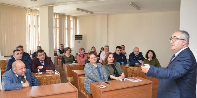 Belediye çalışanlarına motivasyon eğitimi