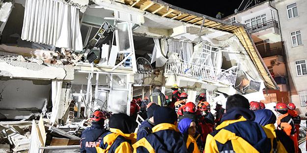 6,8'lik deprem sonrası Elazığ ve Malatya'da can kaybı artmaya devam ediyor