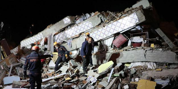 6.8'lik felaket sonrası Türkiye seferber oldu