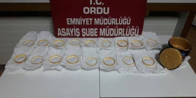 Kuyumcuya sahte altın satan 4 kişi yakalandı