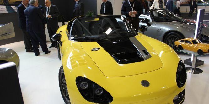 Yerli tasarım otomobil İstanbul Autoshow'da sergilendi