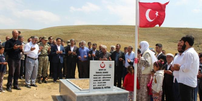 Tendürek Dağı'ndaki terör operasyonunda şehit olan İsmail Deniz'in annesi Miyeser Deniz: