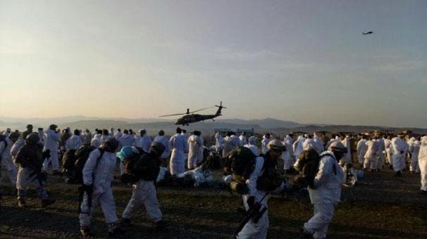 7 bin askerin katıldığı operasyon tamamlandı: 28 terörist öldürüldü