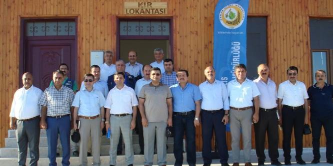 Orman Bölge Müdürlüğü toplantısı Kilis'te yapıldı