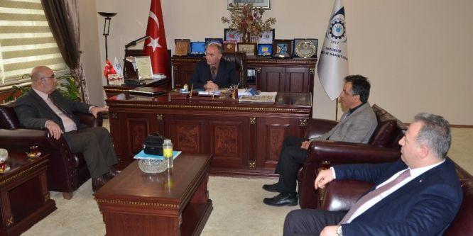 Mehmetçik Vakfı'ndan ETSO'ya ziyaret
