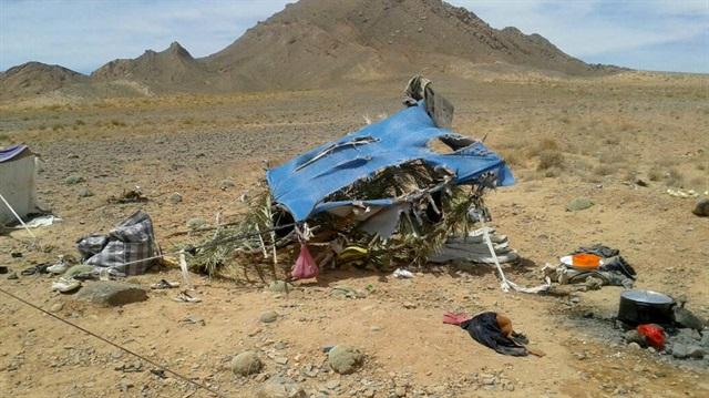 8 aile Cezayir-Fas sınırında çölde mahsur kaldı