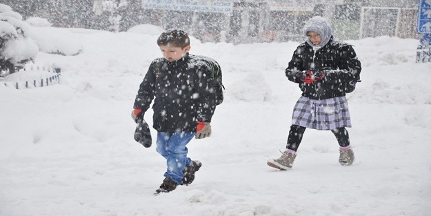 8 ilde eğitime kar tatili!