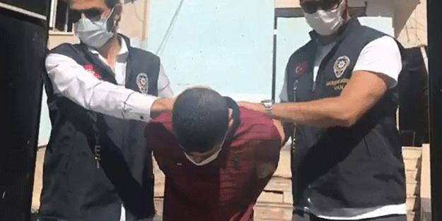 8 yıl hapis cezası olan firari yakalandı