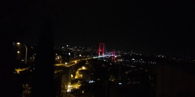 15 Temmuz Şehitler Köprüsü İstanbul Maratonu için kapatıldı