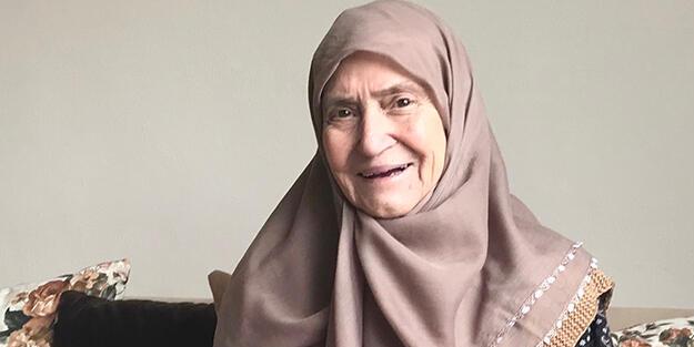 86 yaşındaki Resmiye teyze koronavirüsü yendi