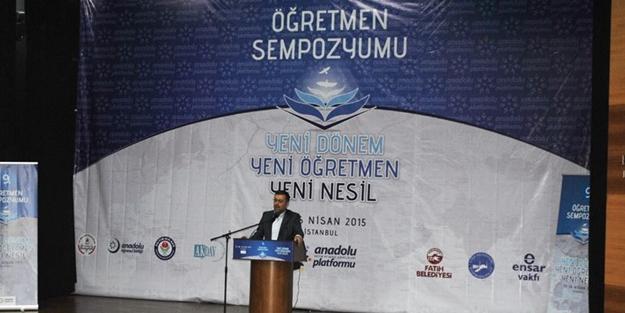 9. Öğretmen Sempozyumu İstanbul'da gerçekleştirildi
